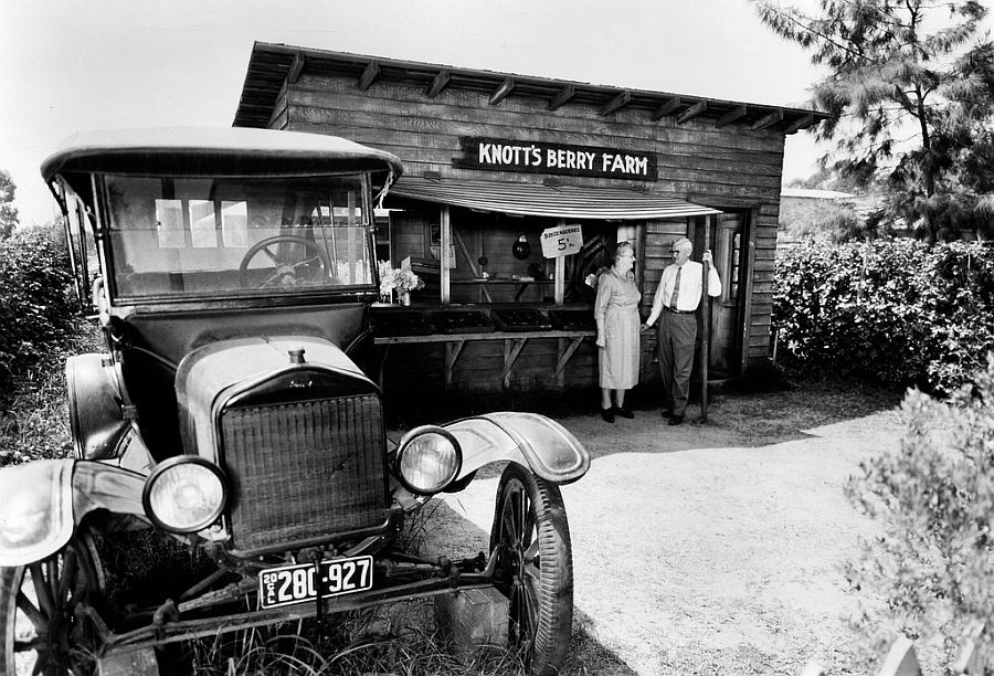 Model T Ford Forum Old Photo Knott S Original Berry Stand