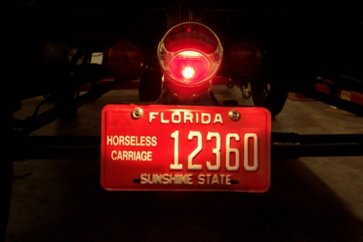 ... that is another matter and you would have other non-limited insurance and then go with the FL std license plate and fee as a modern car would have. & Model T Ford Forum: Florida Antique vs. Horseless Carriage plates.