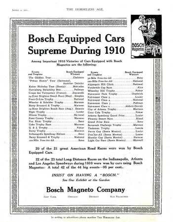 Bosch Racing Ad