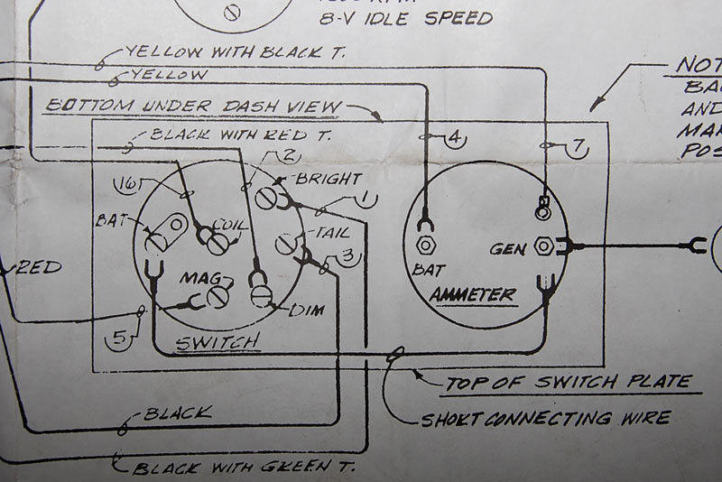 ammeter wiring with generator illustration of wiring diagram u2022 rh davisfamilyreunion us