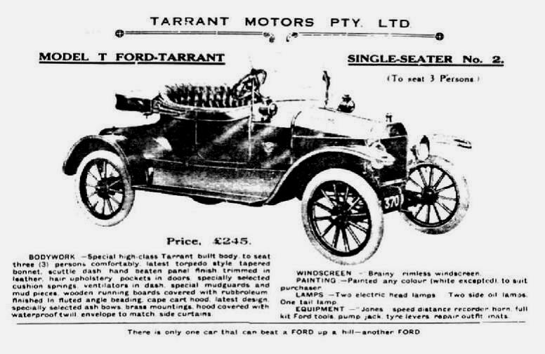 Model T Ford Forum: Old Photo. Nice Oz Bodied Car.