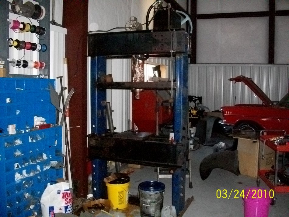 Model T Ford Forum: Need shop made press ideas