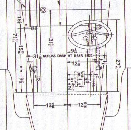 model t ford forum dimensions needed for 26 27 firewall 31 Ford Coupe Dimensions the 1906 catalog that shows the exhaust and intake manifold on the right side of the model n ford the photo was printed reversed in the p hlet