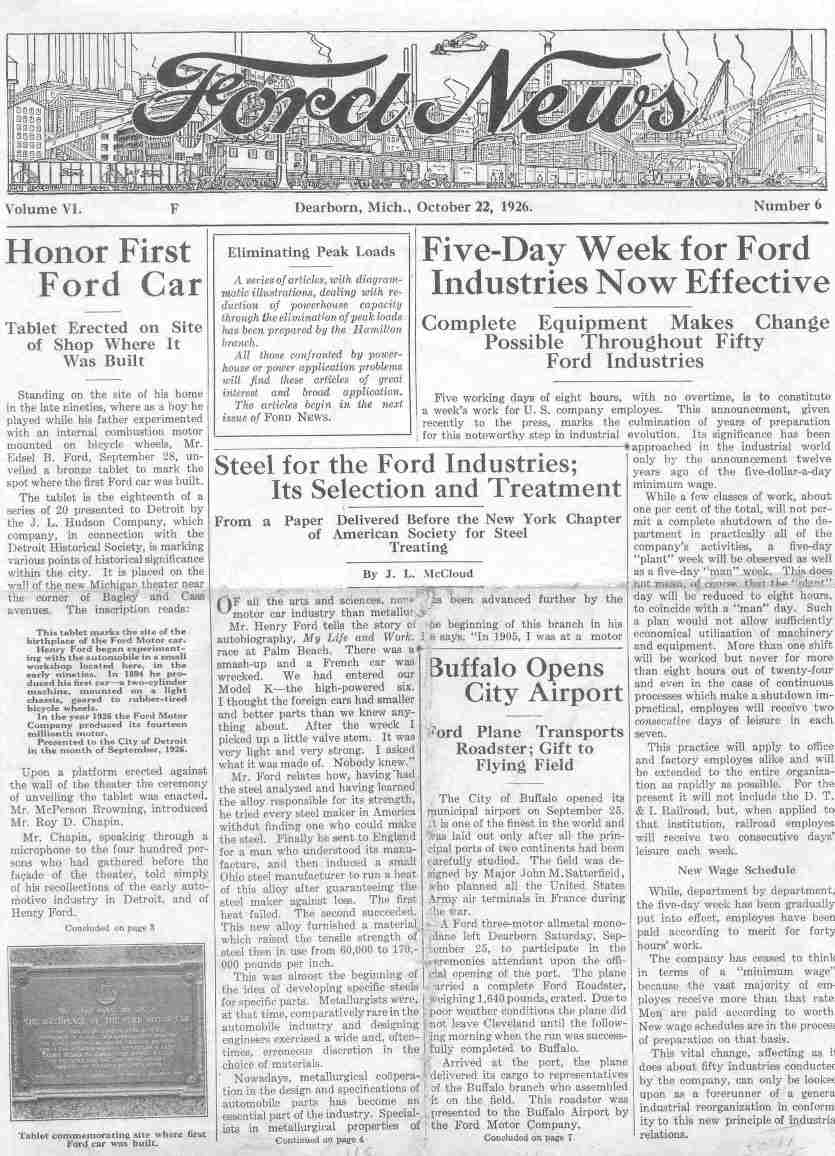 Ford News 1