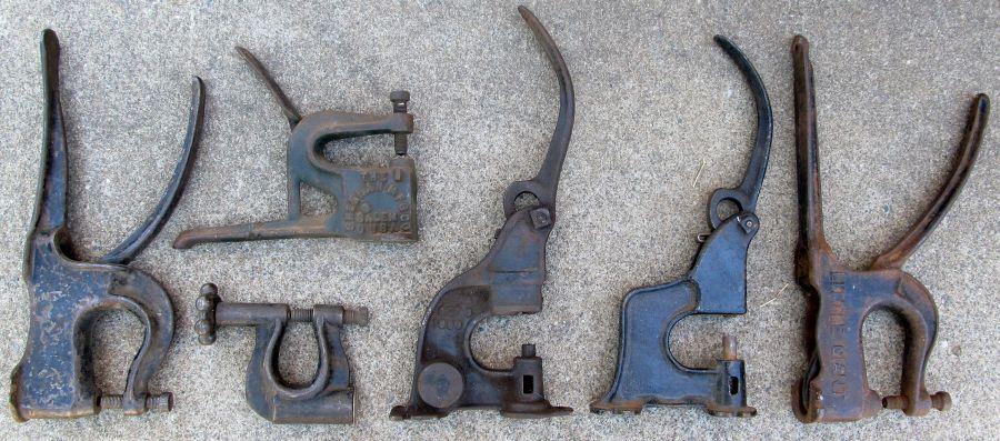 Model T Brake Rivet Tool : Model t ford forum what is the best rivet set tool for