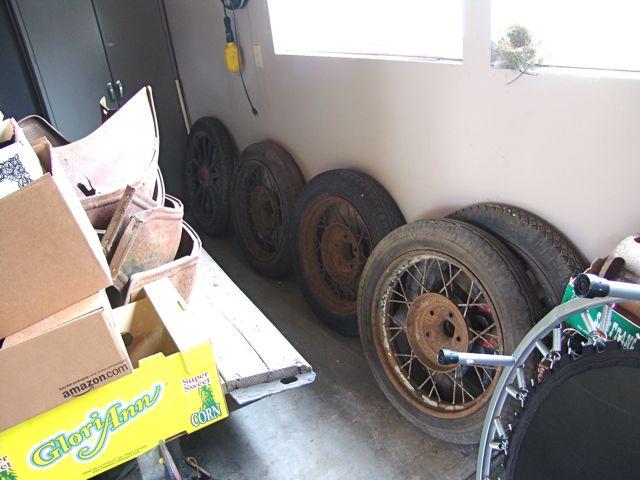 extra wheels