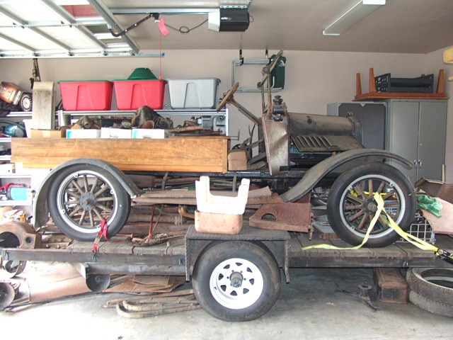 Model T loaded up