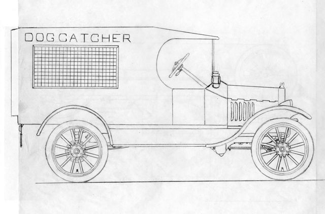 ModelTdogcatchertruck