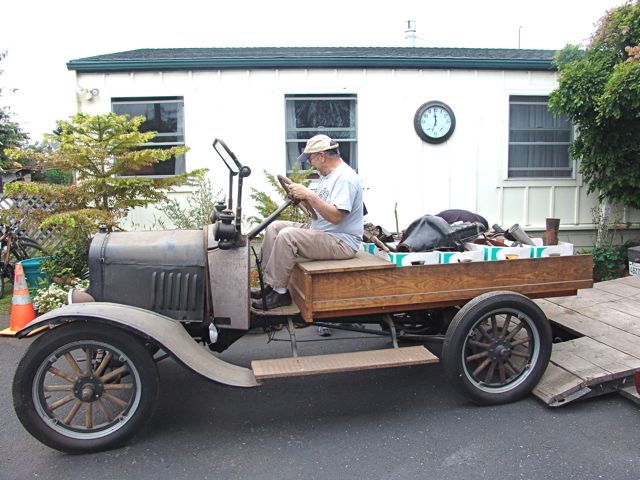 Model T and parts