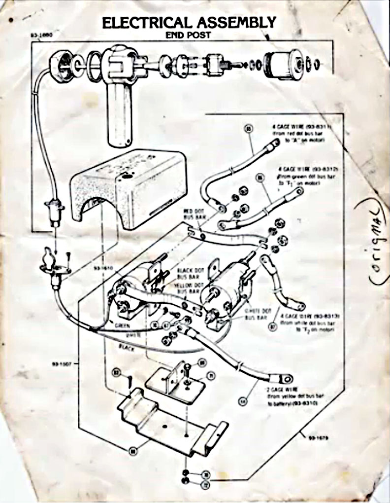 2 Post Winch Wiring Diagram | Wiring Diagram  Warn Winch Solenoid Wiring Diagram V on
