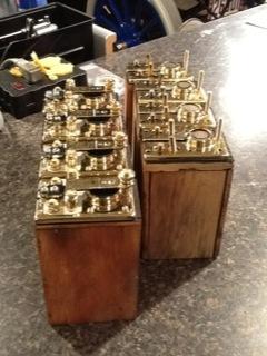 Brass tops