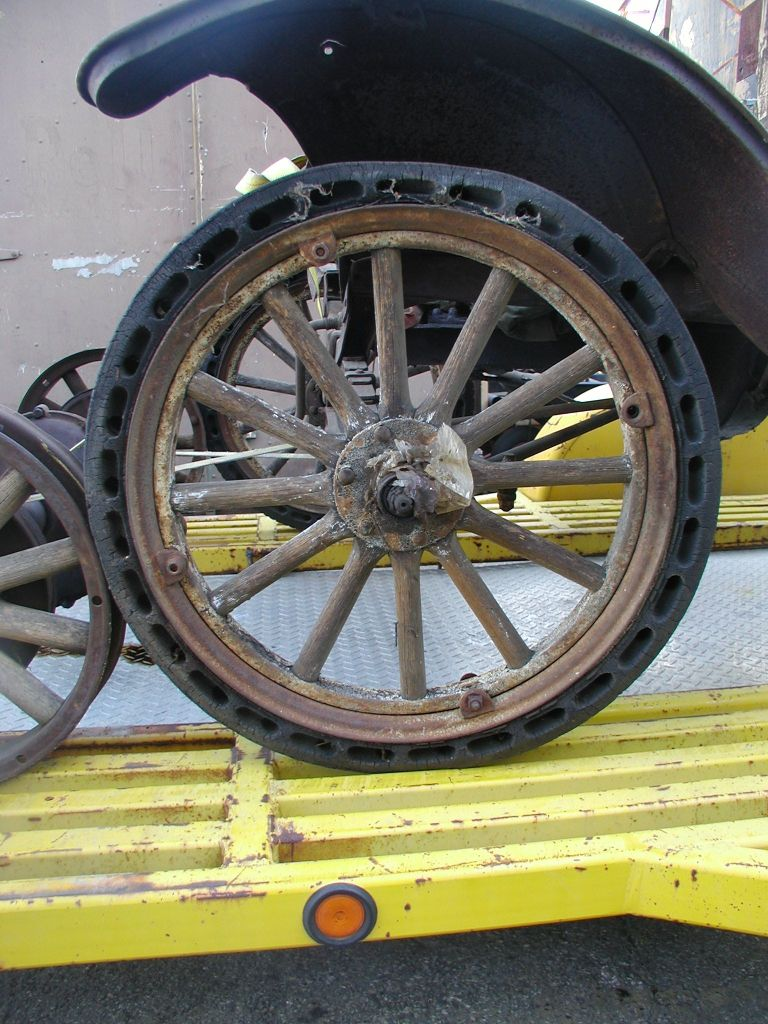 Martin Tire Muncie >> Model T Ford Forum: Bought a TT Rolling Chassis over the weekend.
