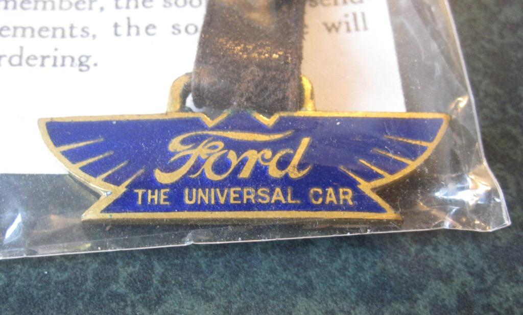 Ford Winged Script Watch Fob