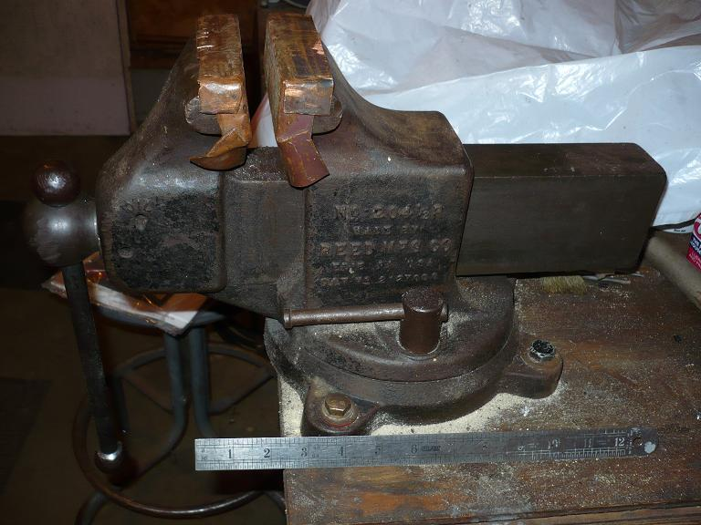 Model T Ford Forum: OT RESTORING A WILTON VISE   WHY?