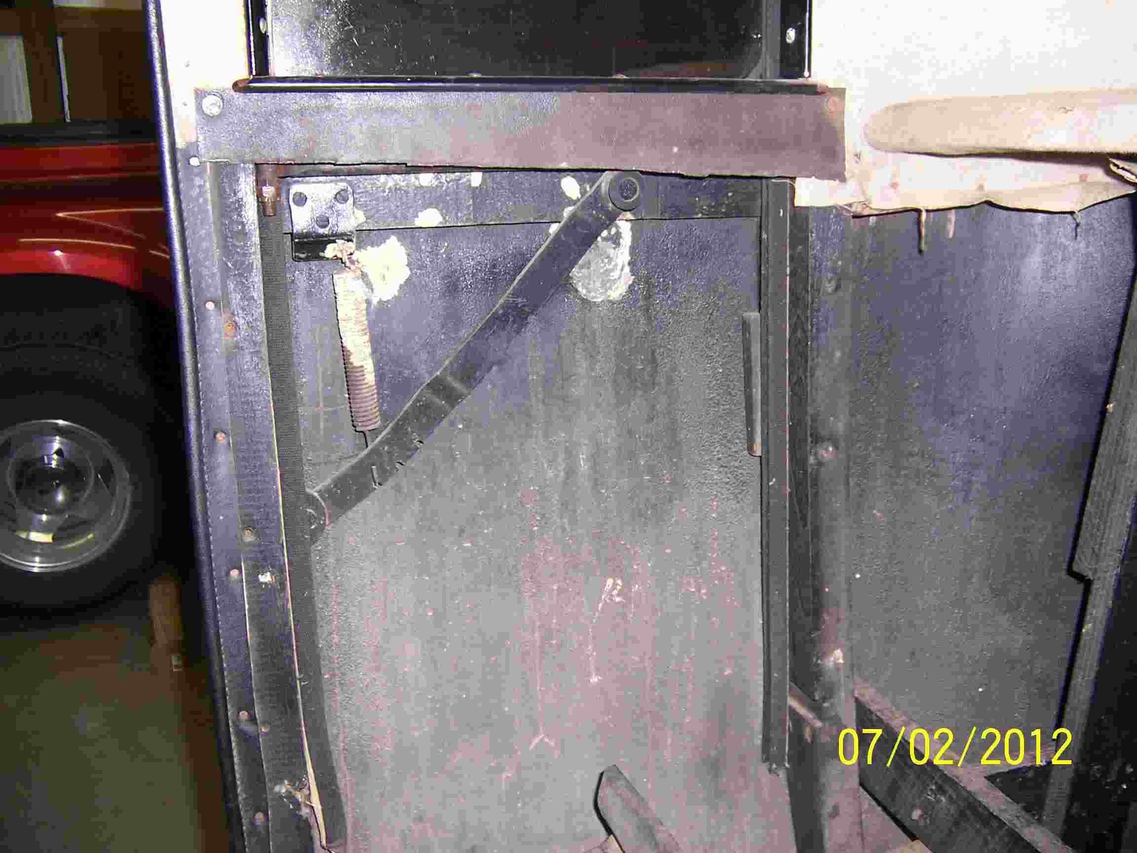 Missing Quarter Panel Metal