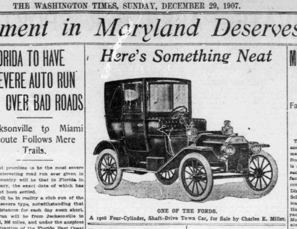 henry ford model t 1908. that ad also indicates the new car will be available in addition to n/s and six cylinder (model k). henry ford model t 1908