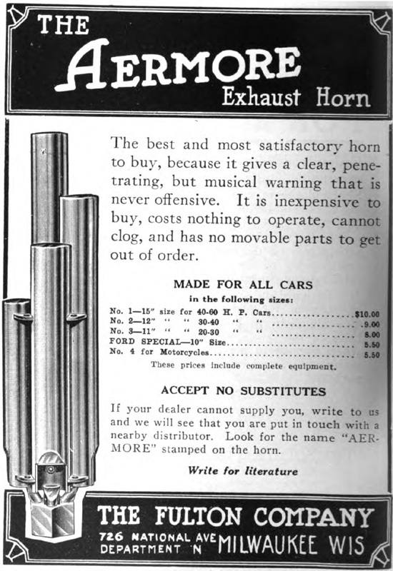 Model T Ford Forum Aermore Exhause Whistle