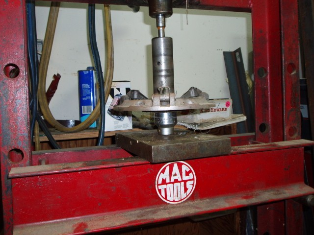 driven plate bushing removeing