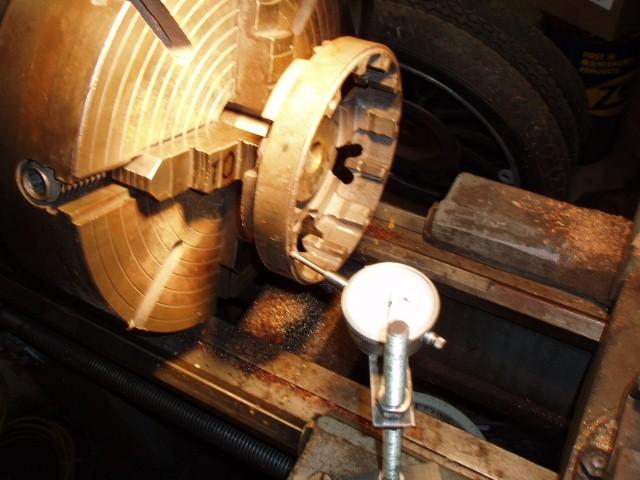 checking brake drum run out
