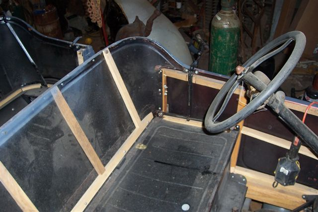 front seat back wood