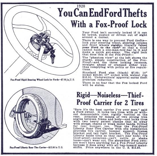 Foxx lock