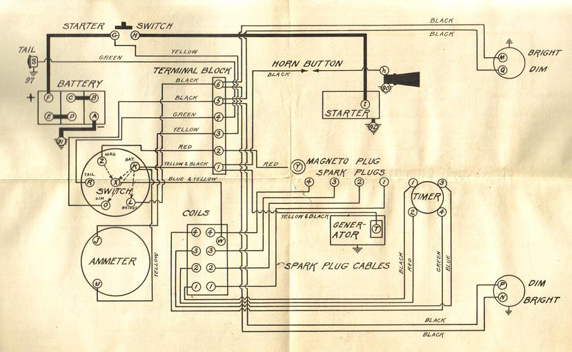 model a ford engine diagram model a ford headlight wiring model t ford forum: headlight switch & bulbs,incorrect ...