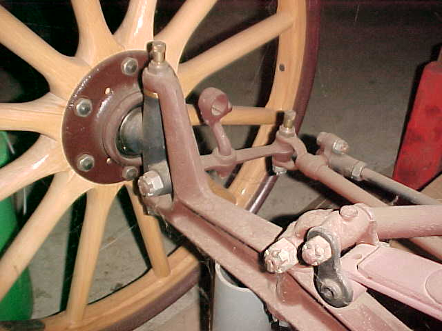 Parts Of A Car Wheel And Axle