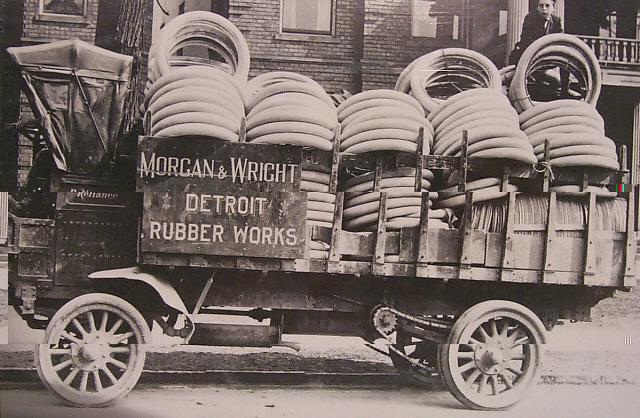 Model T Ford Forum White Tires