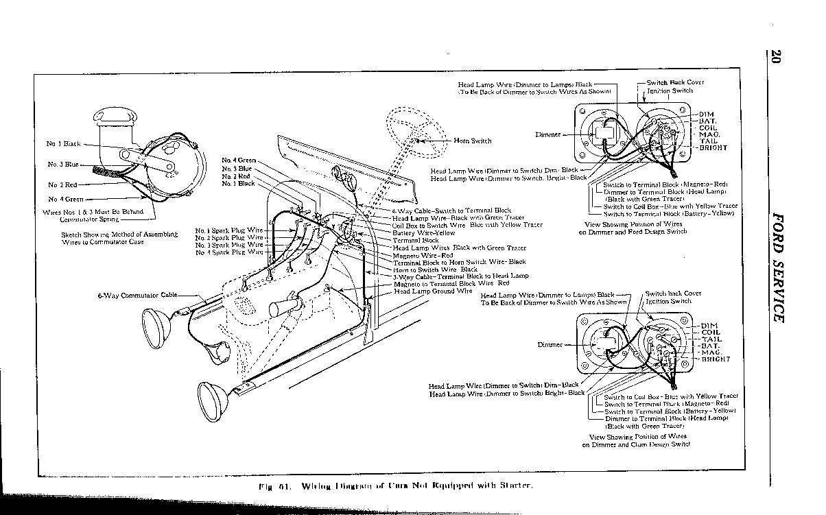 1929 model a wiring diagram 1929 ford roadster wiring diagram #7