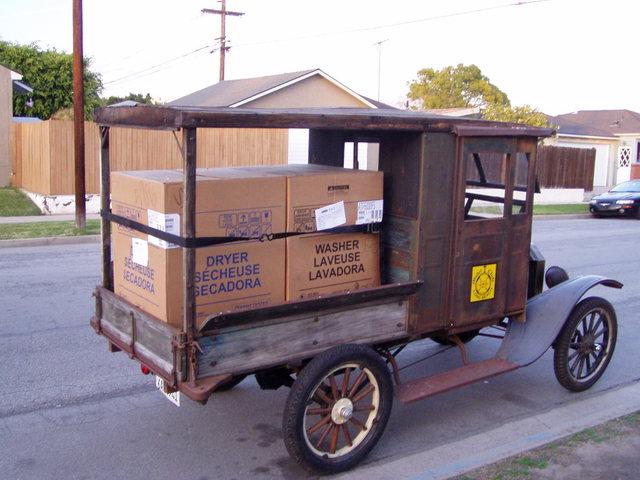 Martin Parry Express Truck