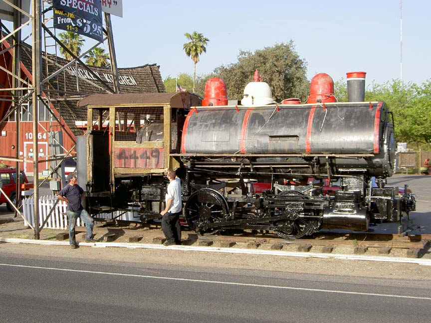 Porter Locomotive Before