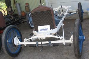 speedster disc brake set up