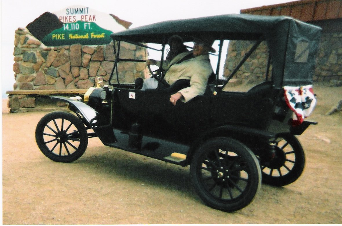 My 1914 T at Pike's Peak