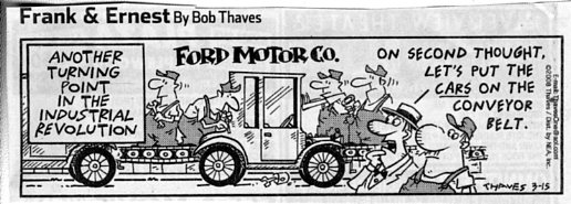 Model T Ford Forum: Birth of the assembly line