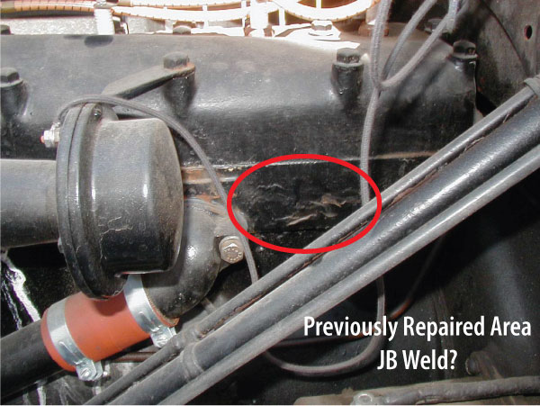 Cracked Engine Block >> Model T Ford Forum Uh Oh Cracked Block