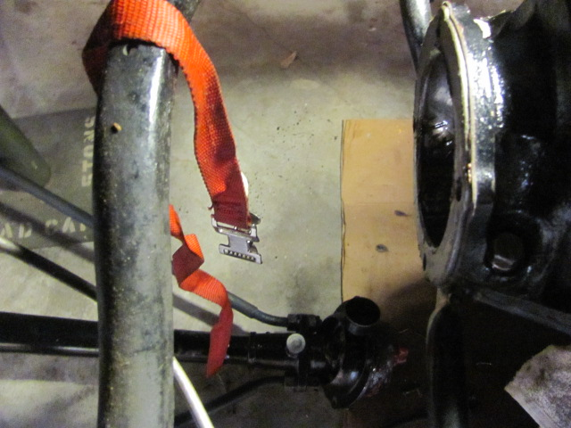 how to put in a rear wheel grease cap