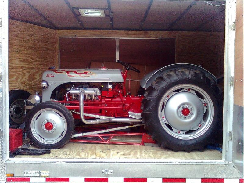 Hot Rod Ford 8N