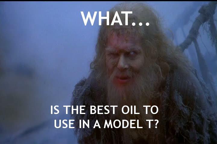 Model T Oil Meme