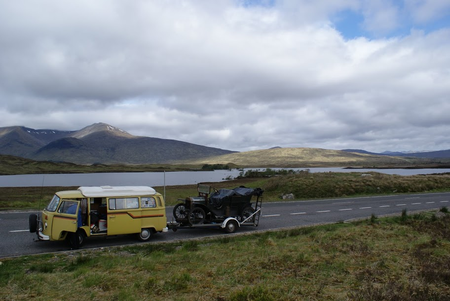 VW & T in Scottish Highlands