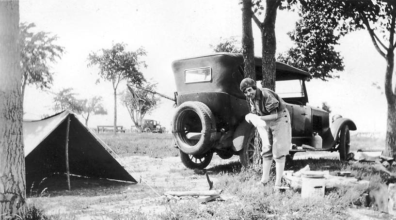 1926 camping trip