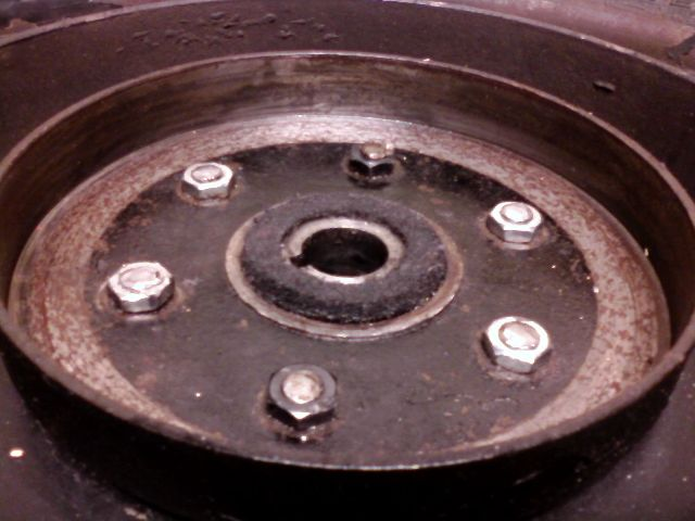 Model T Ford Forum: Removing Peened Hub Bolts