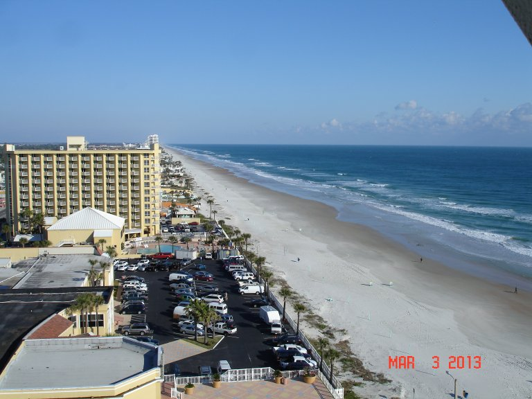View Of the Beach from the 14th Floor