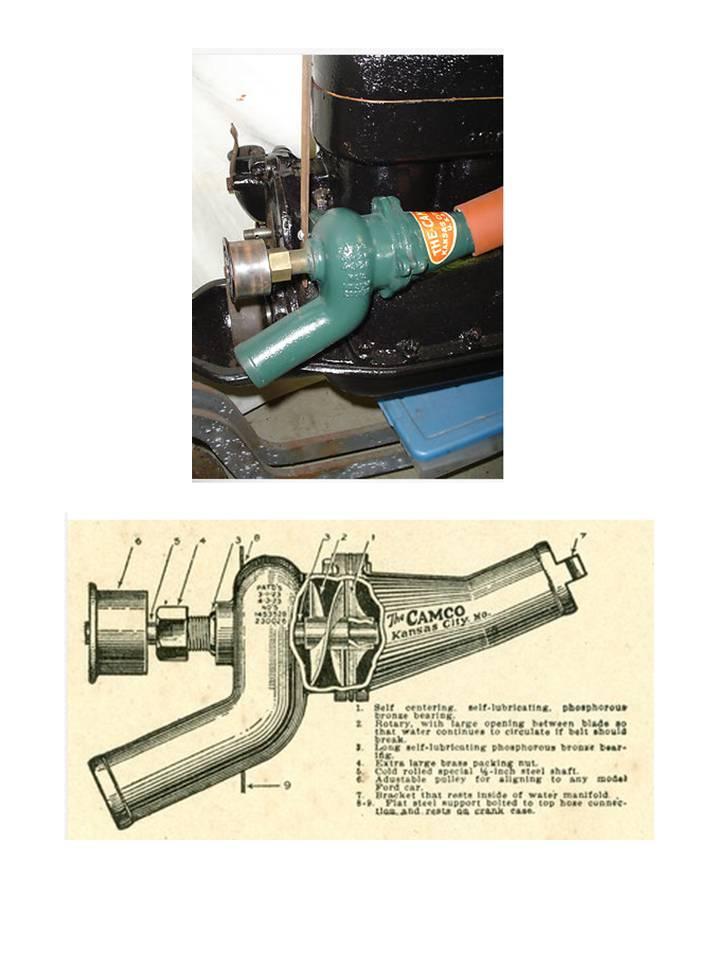 Model Water Pump Water-pump-for-model-t