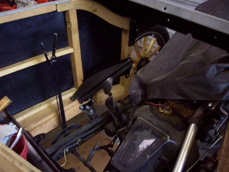 Model t ford forum low cowl floor board risers
