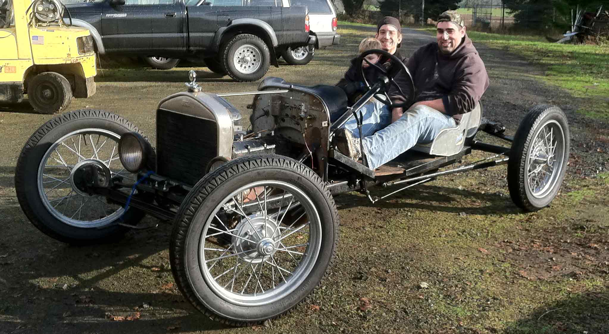 Model T Ford Forum Back Of A Touring Body For Speedster