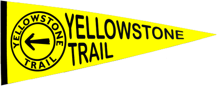 Yellowstone Trail pennant