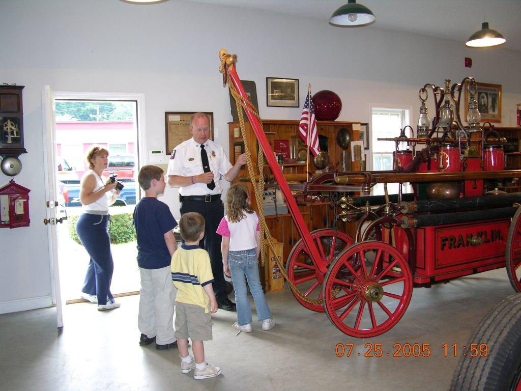 Fire Museum in Franklin, New Hampshire