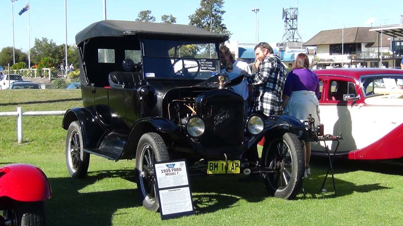 My 1925 Ford Model T touring car at Weekend on Wheels