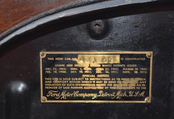 Model T Ford Forum 26 27 Frame Serial Number