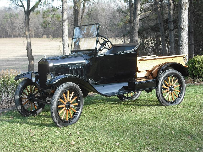 1924 Touring Converted to Pickup